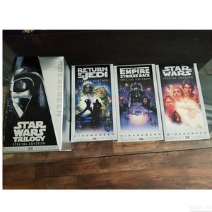 VHS Star Wars Trilogy 1997 Special Edition Box Set